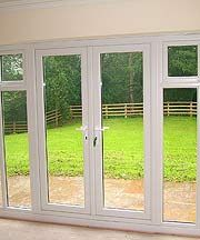 Wickes uPVC French Doors 8ft With 2 Side Panels 600mm same width as
