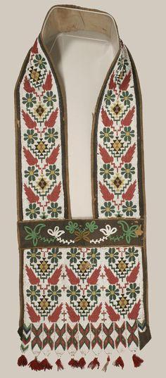 Native_American/beadwork Bandolier Bag
