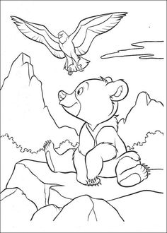 Brother Bear 39 coloring page. You can print out this Brother Bear 39 coloring page and color it with your kids. There are many free Brother Bear . Teddy Bear Coloring Pages, Horse Coloring Pages, Cute Coloring Pages, Cartoon Coloring Pages, Disney Coloring Pages, Coloring Books, Kids Coloring, Brother Bear, Teddy Bear Cartoon