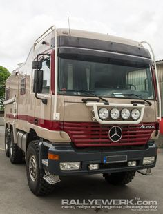 For Sale: Expedition ready Mercedes Actros 6x6 - Expedition Portal