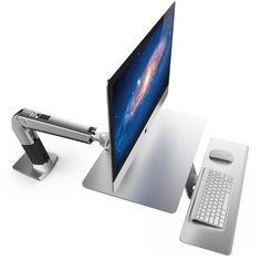 Wall Mount For Imac 27   Google Search Sitz Steh Schreibtisch, Imac  Schreibtisch
