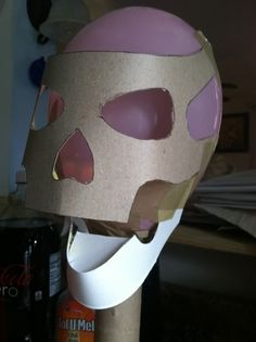 paper mache skulls from scratch Part 1 » Halloween, Haunted Attraction, Paranormal And Gothic Social Network