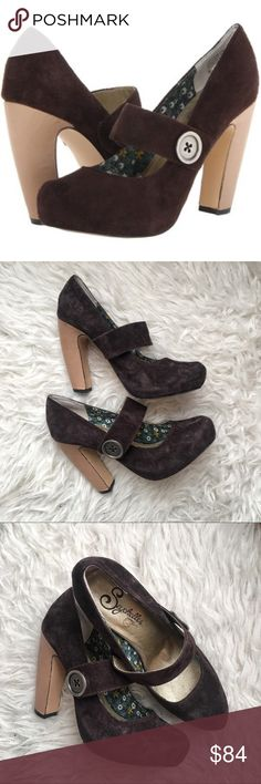 Seychelles third degree platform pumps Excellent condition Anthropologie Shoes Heels