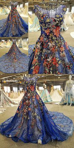LS10268 vestido de festa luxury tank appliques see through back lace ball  gown flowers beading lace 9d58226556f1