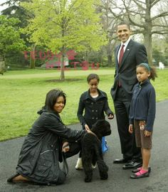 The First Family and Bo.