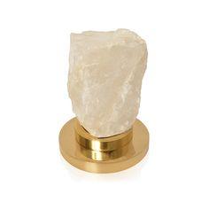 ROSSO   COLOUR  White FINISH  Crystal SIZE  Height 160mm Width 120mm Depth 110mm #auralondon #aura-id #aura #interiors #interiordesign