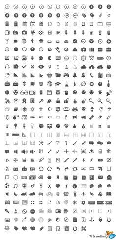 Liste de sites pour icones gratuites