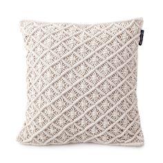 Discover the Lexington Seaside Macrame Cushion Cover - 50x50cm at Amara