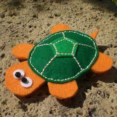 Flatty, the flat Turtle
