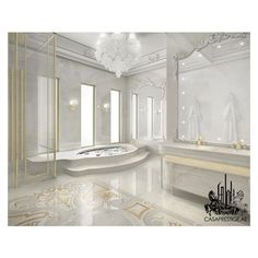 modern mansion bathroom ❤ liked on Polyvore featuring home, bed & bath, bath, bath accessories, modern bathroom accessories and modern bath accessories