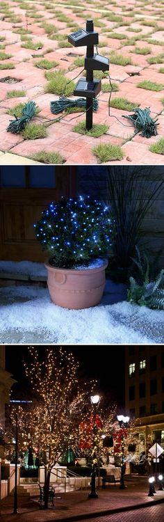 LED Solar String Fairy Lights For Outdoor Garden