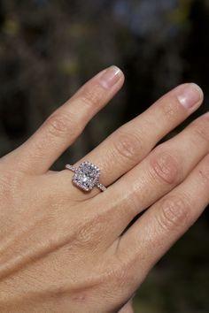 aura engagement ring | vram jewelry