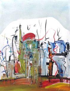 "Saatchi Art Artist Gisela Gaffoglio; Painting, ""All the swing"" #art"