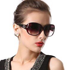 02dead0f3d0 Women s Shades Classic Oversized Polarized Sunglasses 100% UV Protection  6214