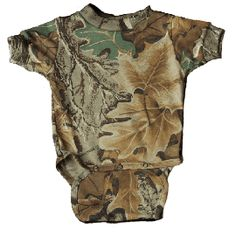 Baby Boy Camo Diaper Shirt