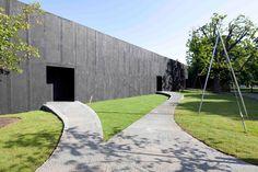 peter zumthor: serpentine pavilion now complete - designboom