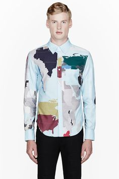 Map of the world on a shirt. Good Idea? Bad Idea? Do not answer this unless your answer confirms my thoughts...if there was a visual equivalent of the smell of shit this would be it.
