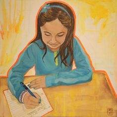 Artist: Michelle Doerner, Malala's story can inspire anyone to persevere. A life without education is a life without growth. I believe education and passion can change the world. Throughout the globe, today's girls will become tomorrow's leaders.
