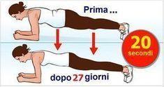 Volete rimodellarvi il corpo in solo 4 minuti? Pensate si tratti di una bufala? No. Con un po' di volontà e se fate il planking ogni giorno ne avrete un corpo ben modellato e sarete molto energici. Il planking non dà risultati immediati, ma pian piano trasformerete il vostro corpo in uno perfetto. Basta fare quest'esercizio 4 settimane consecutive. Inizialmente cercate di resistere 20 secondi. Sembra semplice, vero? Poi aumentate gradualmente la durata fino a 4 minuti. Vi presentiamo lo…