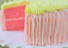 Pink Lemonade Cake from Scratch