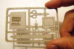 Alteroy Design business card