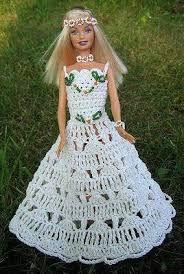 Bildergebnis für ropa de barbie tejida a crochet grafico