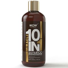 WOW Organics Miracle 10 in 1 Shampoo  10 Fl Oz  No Sulphate  No Parabens >>> You can find out more details at the link of the image.(This is an Amazon affiliate link and I receive a commission for the sales)