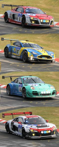 Some of the frontrunners of this years 24h