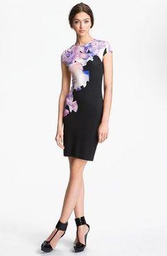 Professionelle: Floral Print Dress