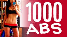 1000 reps of the best ab flattening, core strengthening abdominal exercises ever. 10 moves, 100 reps each. By the end, your abs will be SHREDDED.