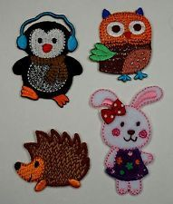 Fairy Embroidered Motifs Iron/sew On Patch Badge Embroidery Fairies
