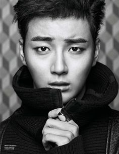 yoon shi yoon looking pretty fine, but honestly, he looks a little too scared in all of these photos //// Yoon Si Yoon - Harper's Bazaar Korea's December 2013 Issue Asian Actors, Korean Actors, Korean Dramas, Korean Idols, Dong Gu, Yoon Shi Yoon, Jung Joon Young, Yoo Ah In, Korean Entertainment