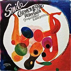 Carmen Leggio - Smile, label: Progressive 2010 (1978) Design: David Stone Martin.