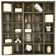 25 Cubby Hole Large Reclaimed Wood Wall Cubby by TXCrazy on Etsy Cubby Shelves, Wall Shelving Units, Cubbies, Wall Bookshelves, Texas Home Decor, Vintage Crates, Cubby Hole, Wooden Walls, Organizer
