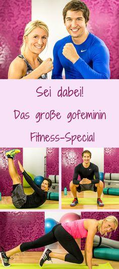 Ab dem 4.1. geht's los! Dann startet das große Fitness-Special go FIT mit gofeminin. Unbedingt dabei sein und 6 Wochen mit unseren beiden Trainern Andrea und Simon tranieren: http://www.gofeminin.de/sport/fitness-special-go-fit-s1681909.html