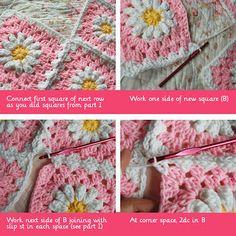tillie tulip - a handmade mishmosh: Join-as-you-go (part II)