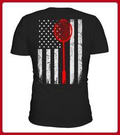 American Badminton Flag - Tennis shirts (*Partner-Link)