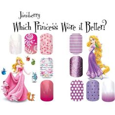 Which princess wore it better? Jamberry