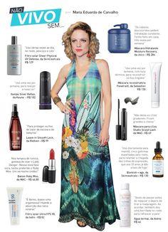 Maria Eduarda de Carvalho, de 'Sete vidas', lista produtos de beleza