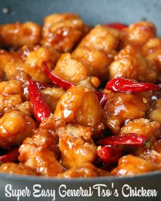 Easy General Tso's Chicken   Save Money And Make Your Own Chinese Food At Home