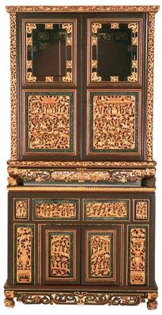 A authentic Peranakan Closet