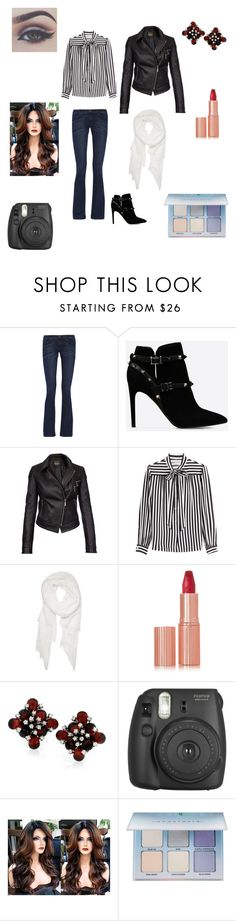 """""""Winter's bliss"""" by sable-leblanc ❤ liked on Polyvore featuring Current/Elliott, Valentino, Barbour International, Philosophy di Lorenzo Serafini, Calvin Klein, Charlotte Tilbury, Bellezza, Fujifilm and Anastasia Beverly Hills"""
