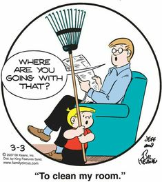 The Family Circus Funny Cartoons, Funny Comics, Funny Jokes, Hilarious, Funny Sayings, Mom Jokes, School Jokes, Love My Family, Family Circle