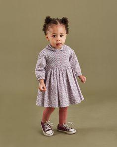 Long Sleeve Baby Dress - Remi - 18-24