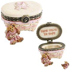 Longaberger/Boyds Exc..2009 Horizon Of Hope Treasure Box..Retired..Final ????