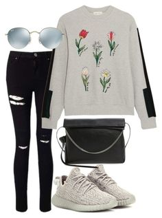 """""""Untitled #3479"""" by bubbles-wardrobe ❤ liked on Polyvore featuring Miss Selfridge, Steve J & Yoni P, adidas Originals, AllSaints and Ray-Ban"""
