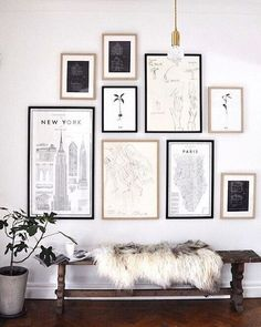 Feeling lost when it comes to art? We got you! Map art is a great & cost effective art solution for spaces which you what to keep simple, engaging & monochromatic. Places you have been & places on your bucket list, anything goes! Image from @elledecorationdk | Steph #design #designer #shop #style #inspiration #inspire #map #art #home #decor #decorate #monochrome #newyork #balance #space #interiors #interiordesign #global #thestylephiles #interiorstyle #interiorlovers #interior4all #decor…