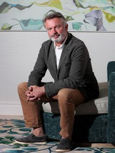 Sam Neill, Suit Jacket, Take That, Actors, Blazer, Eyes, Image, Jackets, Fictional Characters