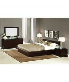 Lifestyle Solutions 4 Piece Zurich Bedroom Set