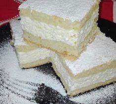 Pillekönnyű túrós pite, olyan puha, hogy ez a süti valódi különlegesség! Hungarian Desserts, Hungarian Recipes, Eastern European Recipes, Crazy Cakes, Sponge Cake, Healthy Drinks, Vanilla Cake, Nutella, Feta